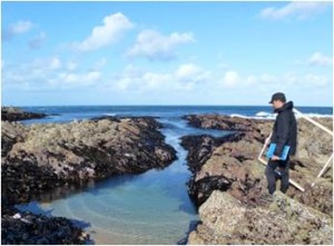 Surveying the coastline for tidal power development