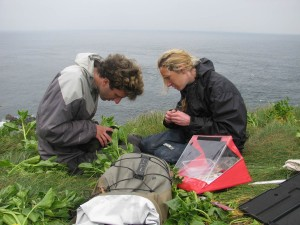 Tim and Vicky tagging a shag