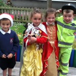Our Puffin met lots of different characters